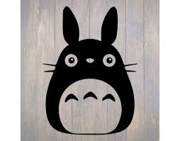 Totoro Vinyl Decal Car Sticker My Neighbor Totoro Sticker Etsy