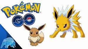 Pokémon GO Eevee Evolution Jolteon/Sparky | How To Get Jolteon | Pokemon Go  Easter Egg - YouTube