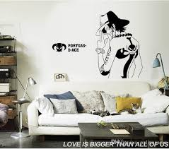 One Piece Portgas D Ace Cartoon Wall Sticker Kindergarten For Boy Kids Rooms Home Decor Wall Decal Bedroom Wallpaper 50 70 Cm Kid Wall Decals Kid Wall Stickers From Qiansuning888 33 01 Dhgate Com
