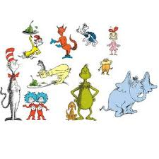 Na 22 Piece Dr Seuss Small Wall Decal Set Reviews Wayfair