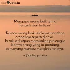 mengapa orang baik sering quotes writings by ayu rahma