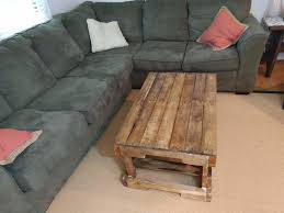 award winning rustic coffee table