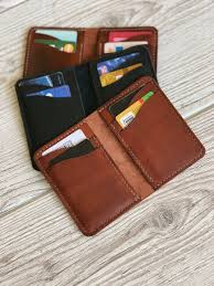leather credit card wallet mens leather