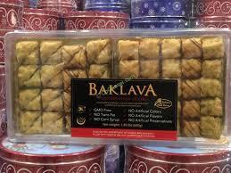 la boulangerie baklava selection 57