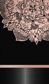 rose gold and black wallpapers top