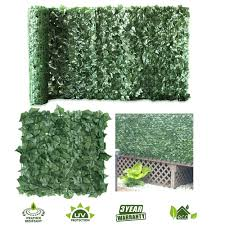 Goasis Lawn Artificial Hedge Fence Panels Topiary Hedge Boxwood Plant Privacy Screen Outdoor Indoor Use Garden Fence Backyard Home Decor Greenery Walls 1 Rolls Garden Outdoor Cjp Org In