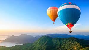 wallpaper hot air balloons landscape