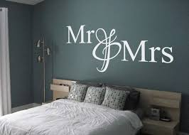 Mr And Mrs Wall Decal Wall Decal Wall Art Decal Sticker
