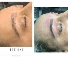 microblading semi permanent makeup in