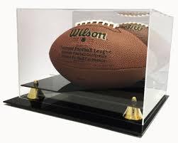 deluxe acrylic wall mount football
