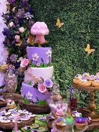 tinkerbell fairy garden party pretty