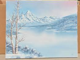 Canvas Art Solitude By David Lorenz Winston Tree Fence Winter Landscape 24x18