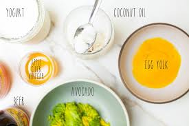 homemade conditioners and diy hair