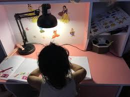Đèn Bàn Học LED Humitsu Nhật Bản