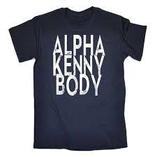 alpha kenny body mens t shirt funny