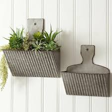 dust pan wall pockets corrugated