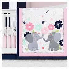 lullaby lane baby girls elephant crib