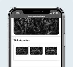 ticketmaster gift cards give live