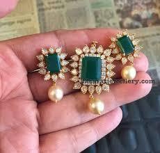 light weight classy pendant sets gold