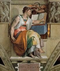 sistine chapel ceiling sybils erithraea