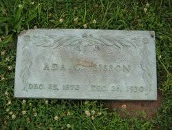Ada Gibson Sisson (1872-1930) - Find A Grave Memorial