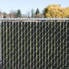Yardgard 4 Ft H X 10 Ft W Black Channel Lock Single Wall Privacy Slats Vinyl Fence Panel 330148sbl The Home Depot