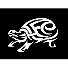 Oracal Tribal Tortoise Vinyl Decal Car Wall Window Sticker Choose Size Color