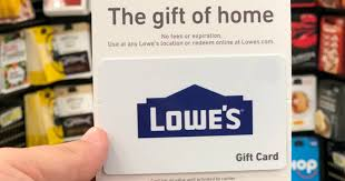 lowe s gift card get rewards with gift