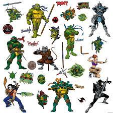 Tmnt Shredder Sticker Vinyl Decal Leonardo Raphael Donatello Michelangelo April Rainbowlands Lk