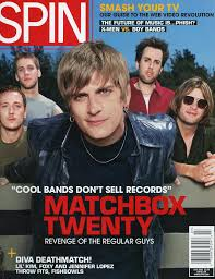 "Matchbox Twenty on Twitter: ""Revenge of the Regular Guys On the cover of  @SPIN during this month 20 years ago!… """