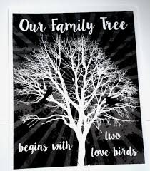 marriage quotes our family tree starts two love birds