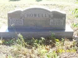 Willie Ivy Boyd Howell (1877-1948) - Find A Grave Memorial