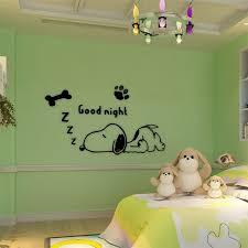 Cute Sleeping Cartoon Dog Wall Stickers Easylifetoolz