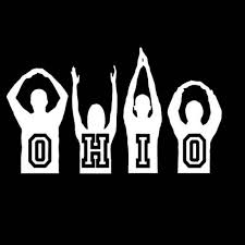 O H I O Osu Silhouette Vinyl 6 Car Decal Sticker By Justvinylit Ohio State Decals Silhouette Vinyl Ohio State Art