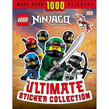 DK Books LEGO NINJAGO Ultimate Sticker Collection Paperback Books