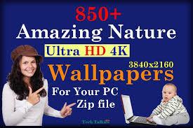 hd nature wallpapers in zip file 4k w