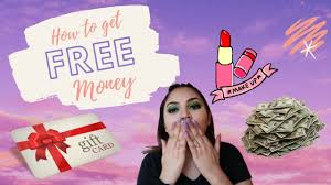 how to get free makeup money with