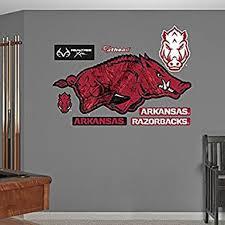 Ncaa Arkansas Razorbacks Realtree Logo Fathead Real Big Decals 61 W X 27 H 1853290872