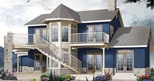 Plan 21556DR: Two-Story Atrium   Victorian house plans, Drummond house  plans, Modern contemporary house plans