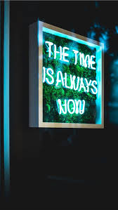 neon light signage iphone wallpaper