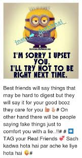 sorry quotes for best friends quotesgram friend quotes