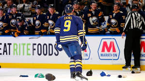 Jack Eichel scores career-high four goals, Buffalo Sabres top ...