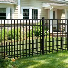 Laundry Room Ideas Discover Mainstreet Aluminum Fence 3 4 In X 2 Ft X 6 Ft Black Aluminum Fe In 2020 Iron Fence Panels Garden Fence Panels Wrought Iron Fence Panels