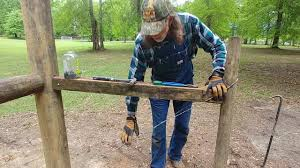 Bracing A Corner Fence Post Youtube