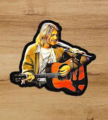 Mobel Wohnen Dave Grohl Autograph Vinyl Decal Nirvana Guitar Headstock Foo Fighters Ngrt In