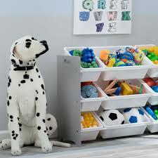 Delta Children Mysize 9 Bin Toy Organizer Storage Play Room Kids Toys Boxes Gray For Sale Online