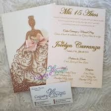 Pin En Modelos De Invitaciones Para Quinceanera
