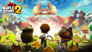 maplestory 2 gaming together till