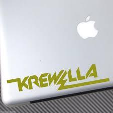 Oracal 651 Krewella Vinyl Sticker Car Decal Laptop Shirt Cd Hat Poster Ep Edm Dj Zedd Diplo