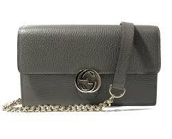 gucci interlocking g chain wallet